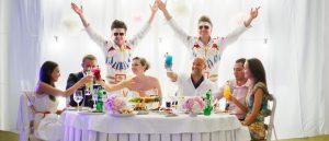 Свадебный коктейль бар