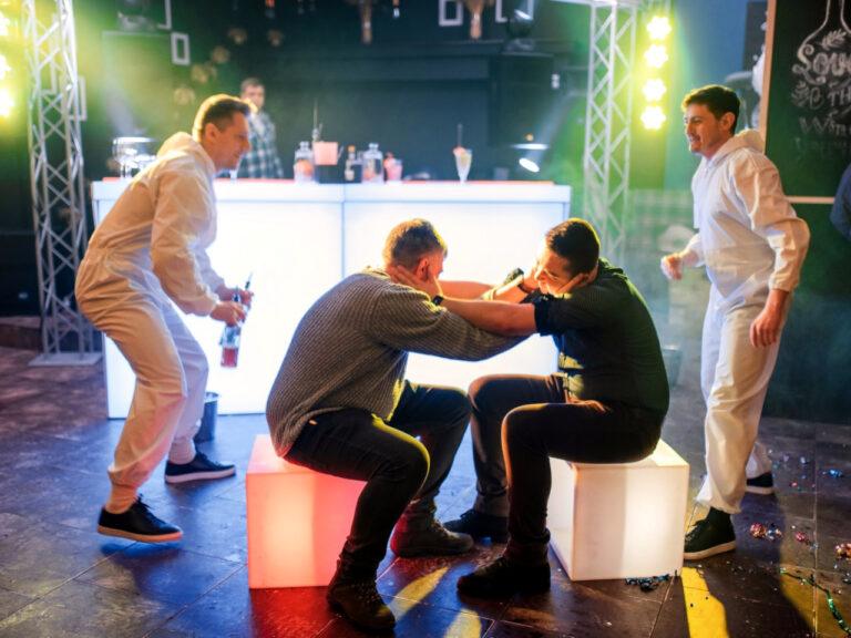 Бармен шоу на свадьбу